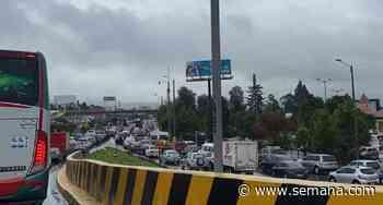 Aparatoso accidente en la vía Chía-Cajicá este martes - Semana