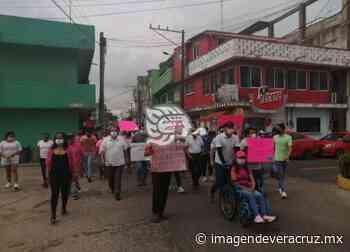 Marcharon por la democracia en Nanchital y exigen voto por voto - Imagen de Veracruz