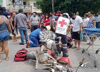 Conductor de camioneta arrolló a motociclistas en Nanchital - Imagen del Golfo