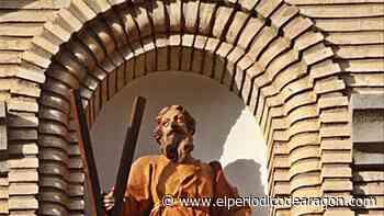 Restaurada la imagen de San Andrés de la iglesia - El Periódico de Aragón