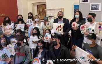 Exponen en Guadalupe trabajos del taller de tejido - El Sol de Zacatecas