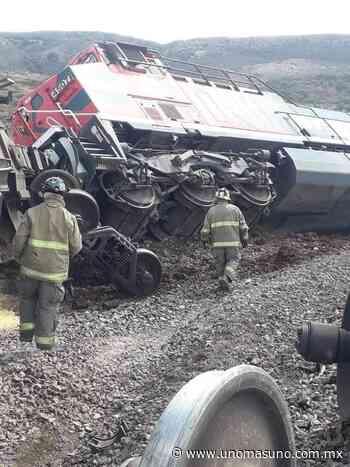 Descarrilan 12 vagones de tren en Guadalupe, Zacatecas – unomásuno.com.mx - UnomásUno