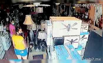 Captan a tres mujeres robando en tienda en Guadalupe - INFO7 Noticias