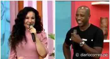 """Janet Barboza y Cuto Guadalupe coquetearon en América hoy: """"Es un churro, un papasito"""" (VIDEO) - Diario Correo"""