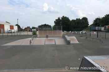 Pop-up skatepark aan Klein Boom komt skaters tegemoet - Het Nieuwsblad
