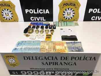 DP de Sapiranga prende membros de facção em apartamento de alto padrão com cocaína, dinheiro e veículos de luxo - Jornal Repercussão