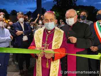A Cernusco sul Naviglio l'arcivescovo apre la Bottega della solidarietà - Prima la Martesana