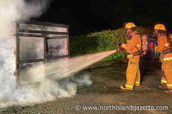 Port Hardy Fire Rescue puts out early morning container fire near apartment block – North Island Gazette - North Island Gazette