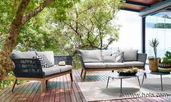 Muebles de jardín de cuerda, lo más nuevo para decorar el exterior - Hola