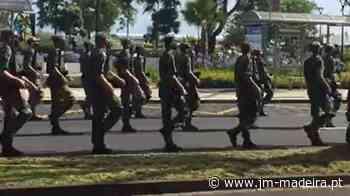 Militares 'ensaiam' para as cerimónias do 10 de junho no Funchal (com vídeo) - jm-madeira.pt