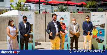 Época Balnear 2021 inaugurada no Funchal com hastear da Bandeira Azul na Ponta Gorda - DNoticias