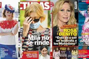 María Pedraza y Álex González como dos tortolitos, la recuperación de Carmen Borrego y Toñi Moreno hasta en... - Poprosa
