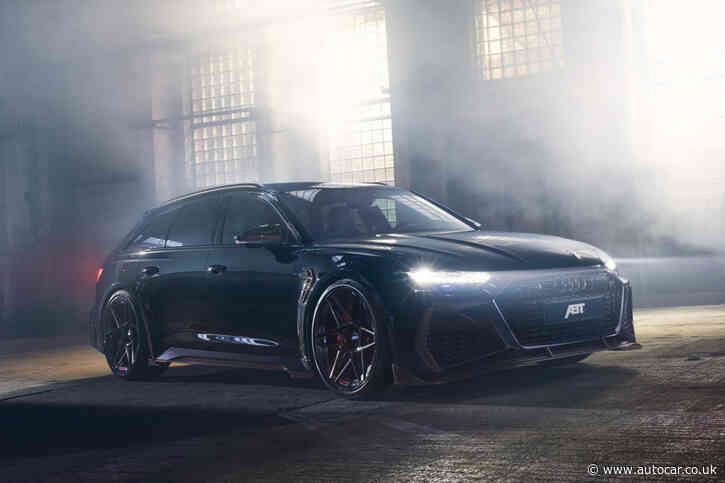 Abt gives Audi RS6 Avant 800bhp for sub-3.0sec 0-62mph time