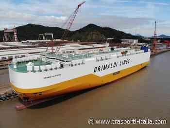 Gruppo Grimaldi: arriva in flotta la Grande California, la carrier più sostenibile - Trasporti-Italia.com