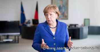 Bundeskanzlerin Angela Merkel von CDU Sorgen sorgt sich um Klima - Saarbrücker Zeitung