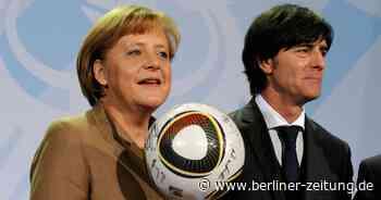 Die letzte Turnier-Runde mit Angela Merkel und Joachim Löw - Berliner Zeitung