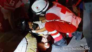 Mujer lesionada tras derraparse en colonia Miami de Ciudad del Carmen - PorEsto