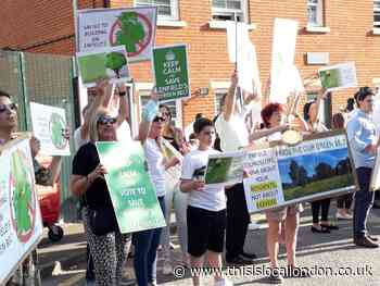 Row over green belt housing plans in Enfield