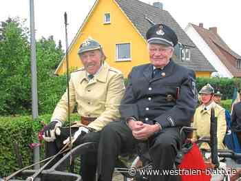Feuerwehr Stemwede trauert um Fritz Benker - Westfalen-Blatt