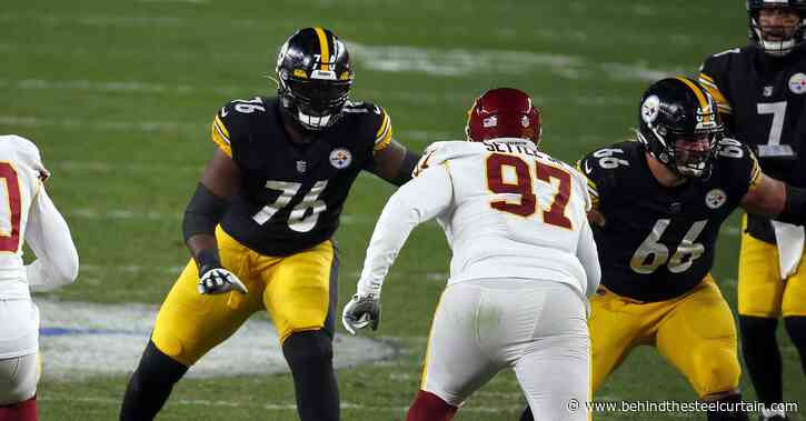 Pro Football Focus ranks the Steelers offensive line in the bottom of the league