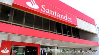 Funcionário do Santander testa positivo para COVID e agência de Assis é fechada para higienização - Assiscity