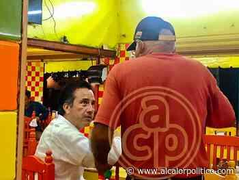 El Gobernador en la 10, disfruta de las garnachas en Rinconada - alcalorpolitico