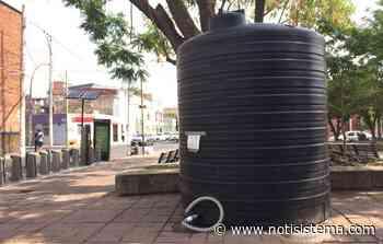 Acusan a indigentes de dañar cisterna del SIAPA en Jardín Juan N. Cumplido - Notisistema
