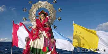 La Virgen de la Candelaria llenó de consuelo las islas del lago Titicaca - Aleteia ES