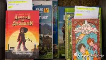 Spende Aktion 100 000 Ulm: Apotheker-Ehepaar Ried stiftet Geld – Schulkinder bekommen ein Wunschbuch - SWP