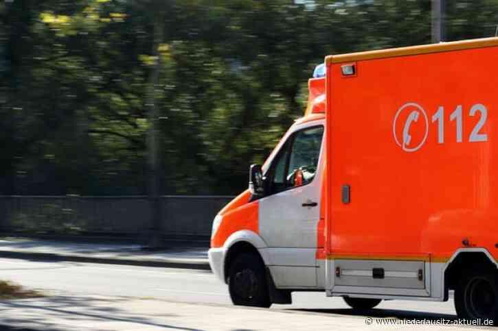 Sekundenschlaf auf A13 bei Ruhland. 62-Jährige im Krankenhaus