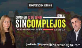 Especial 'Sin Complejos' en esRadio de la concentración de Colón contra los indultos - Libertad Digital