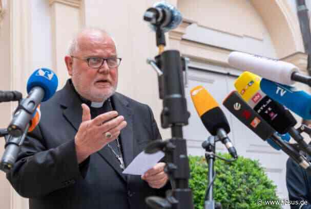 """""""Mach weiter"""": Papst lehnt Amtsverzicht von Kardinal Marx ab"""