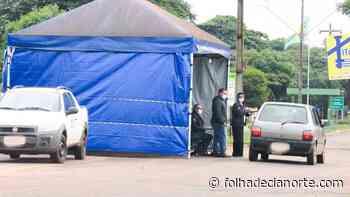 Barreira Sanitária contra Propagação do Covid-19 em Guaporema. - Folha De Cianorte