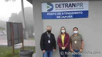 Posto de Atendimento do Detran de Japurá recebe cobertura - Folha De Cianorte