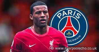 Gini Wijnaldum's first words after joining PSG following Liverpool exit