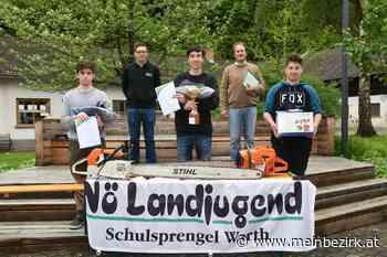 Warth: Die Forstprofis aus der Fachschule Warth sind Siegertypen - meinbezirk.at