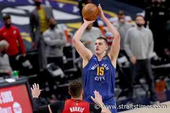NBA: Denver Nuggets ace Nikola Jokic named 2021 MVP - The Straits Times