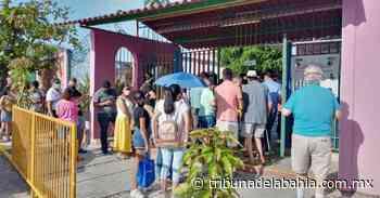 Gran afluencia de votantes en Arboledas 06 junio, 2021 - Noticias en Puerto Vallarta - Tribuna de la Bahía