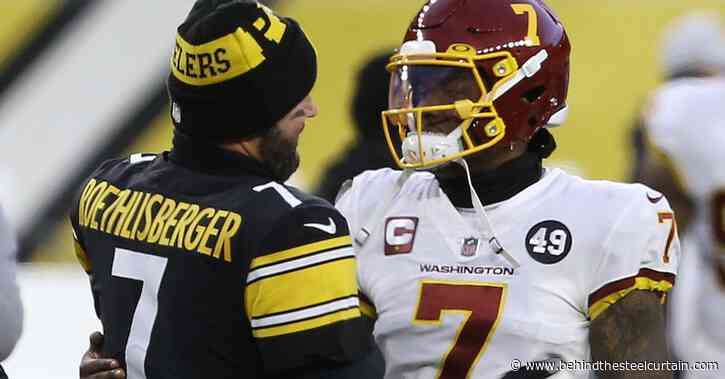 Dwayne Haskins' relationship with the Steelers could be just what both parties need