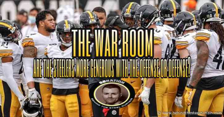 Podcast: Are the Steelers more generous with their offense or defense?