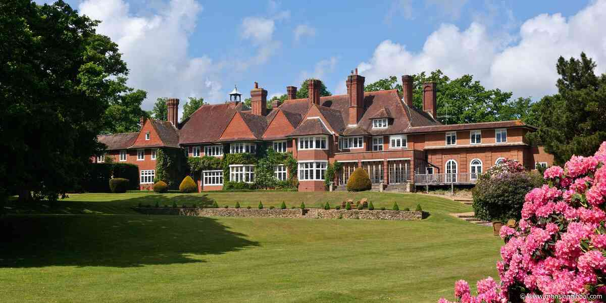 A Nearly 20,000-Square-Foot English Country Mansion Adele Once Called Home - Mansion Global