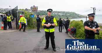 G7 security preparations in Cornwall – in pictures
