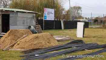 Empezaron a construir un jardín de infantes en Alejandro Korn - El Diario Sur