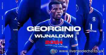 Liverpool fans send transfer wish to Gini Wijnaldum after PSG deal confirmed