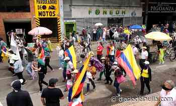 Marchas en Neiva sin ninguna novedad - Diario del Huila