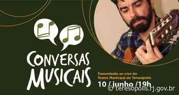 'Conversas Musicais' desta quinta, 10, terá o guitarrista Yvan Castilho e o instrumentista Rubens Tavares - Prefeitura de Teresópolis