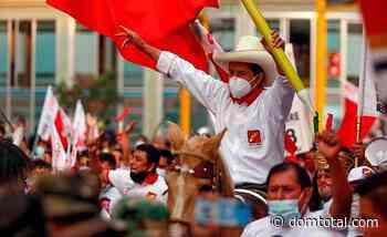 Com pequena margem, sindicalista Pedro Castilho é eleito presidente do Peru - Dom Total