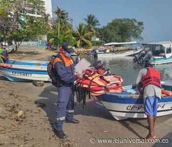 Controles de Capitanía de Puerto de Coveñas previos a temporada alta - El Universal - Colombia