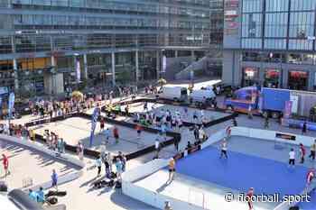 Street Floorball Tour 2021 in 11 cities around Finland - IFF Main Site - International Floorball Federation