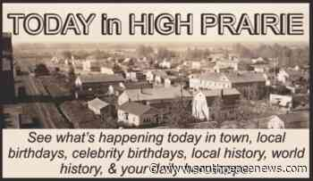 Today in High Prairie: June 9, 2021 | - South Peace News